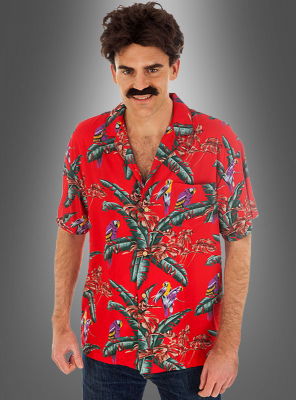 Magnum Hemd rot Hawaiihemd