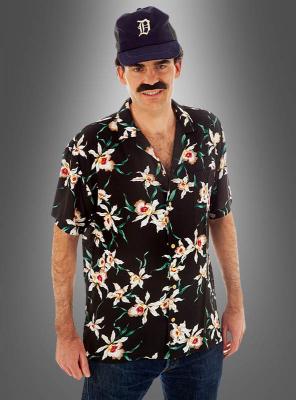 Schwarzes Magnum Hawaiihemd