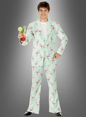 Flamingo Anzug für Herren