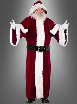 Luxury Santa Costume with Coat
