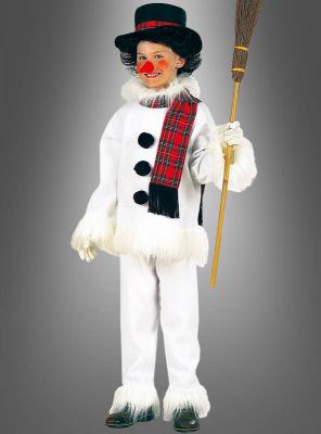 Snowman Costume Children