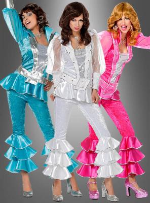 70er Jahre Disco Anzug für Damen