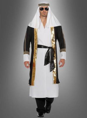 Scheich mit orientalischer Kopfbedeckung