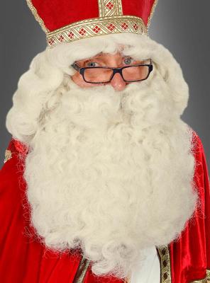 Weihnachtsmann Perücke und Bart