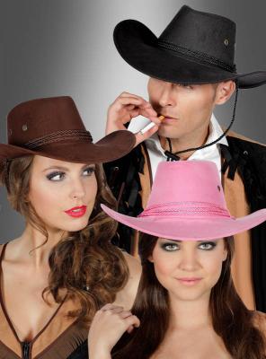 Cowboy Hut verschiedenfarbig unisex