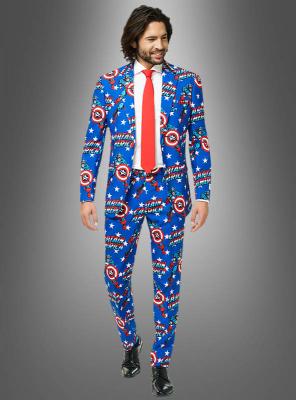 Deluxe Captain America OppoSuit Anzug