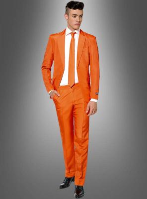 Herrenanzug Orange Suitmeister