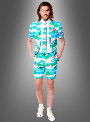 Flamingo Party Anzug Deluxe