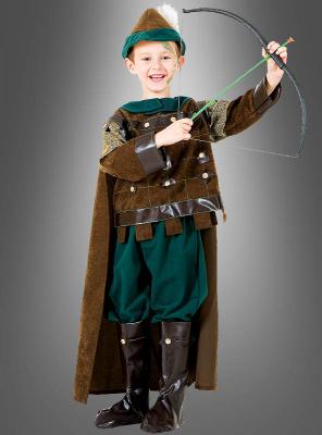 Robin Hood Deluxe Kinderkostüm mit Bogen