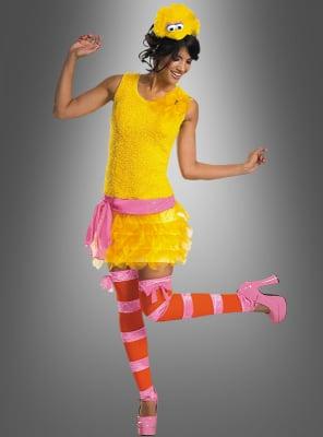 Sexy Bibo Kostüm Sesamstrasse