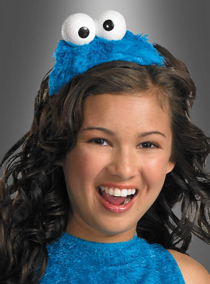 Cookie Monster Sesame Street Headpiece