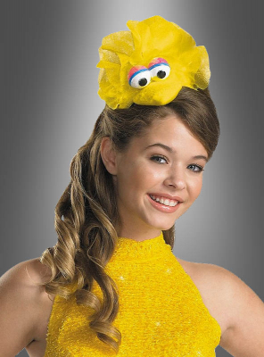 Big Bird Sesame Street Headpiece