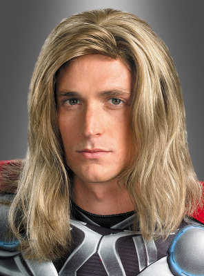 Thor Superheld Perücke
