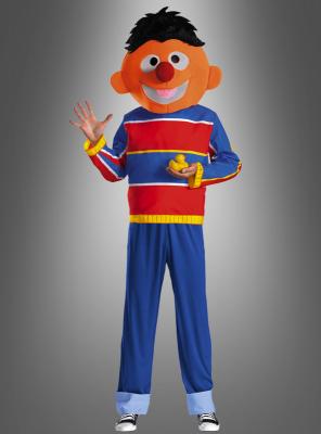 Retro Ernie Kostüm Sesamstraße