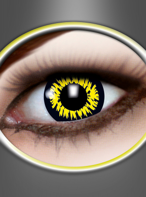 Contact Lenses Werewolf yellow