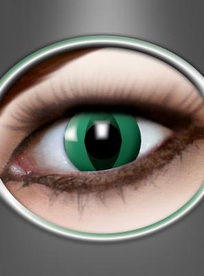 3 Month Contact Lenses Anaconda green
