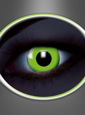 Kontaktlinsen UV Grün Monatslinsen