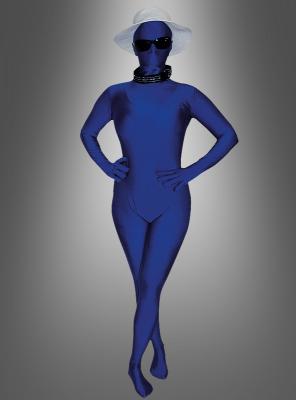 Blauer Speedsuit Unisexanzug