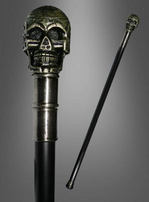 Skull Cane Steampunk