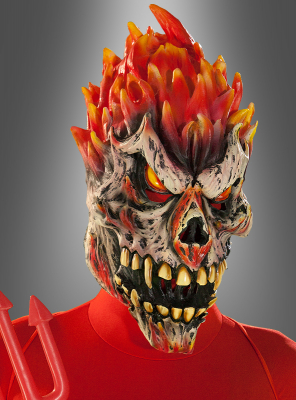 Flame Demon Mask