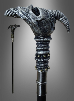 Cane with Demon Head