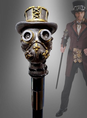 Deluxe Steampunk Cane