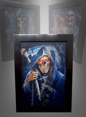 3D Skeleton Portrait