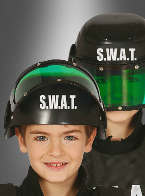 SWAT Helm Kinder