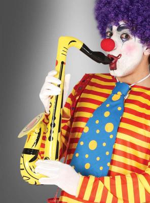 Aufblasbares Saxophon