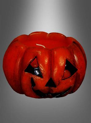 Candle Halloween Pumpkin