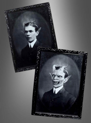Halloween Lenticular Picture Devil