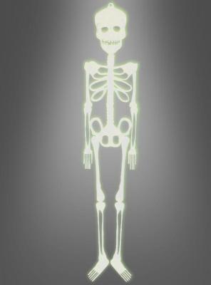 Halloween Skeleton glowing 75 cm