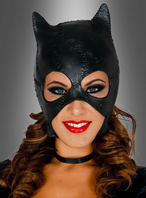 Black Cat Mask Adult