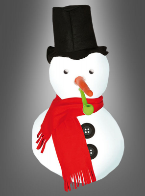 Snowman Decoration Set