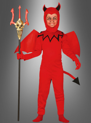 Red Devil Children Costume
