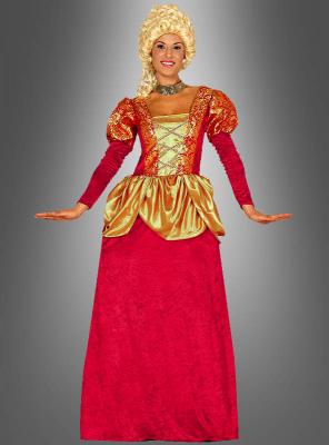 Rotes Barockkleid Baronin
