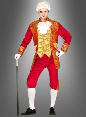 Roter Baron Barock Kostüm