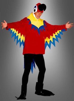 Parrot Costume Adult Unisex