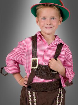 Bavarian Checked Shirt for children