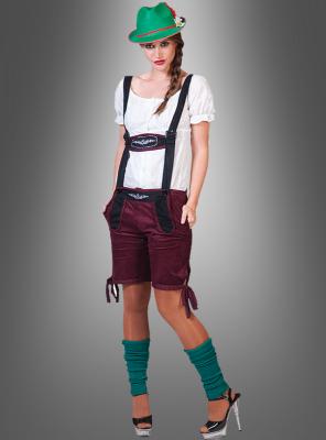 Tirol Lady Costume with Pants