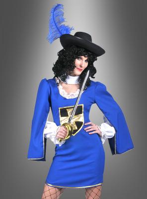 Damen Musketierkleid