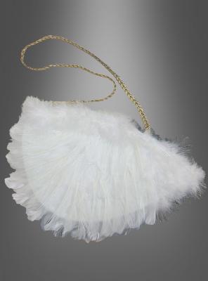 Handtasche Engel mit Federn