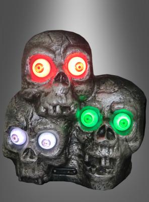 Totenschädel mit Licht und Sound