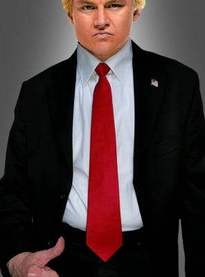Red Tie for Trump Costume