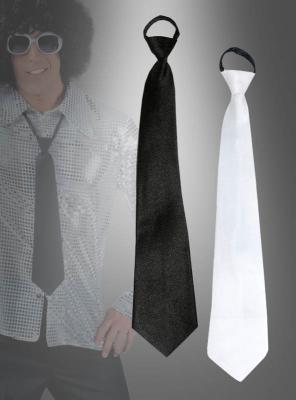 Tie Black or White
