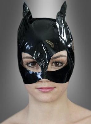 Maske für Katzenfrau Kostüm