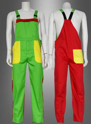 Multicolored Falp Trousers