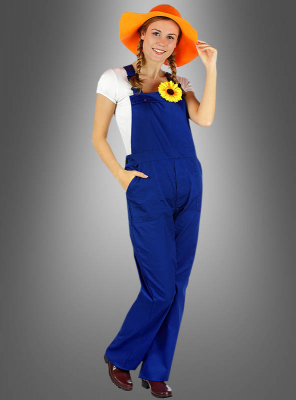 Boiler Suit Bib Overall for Adults