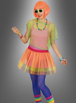 80s Tulle Skirt Neon