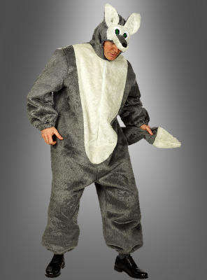 Wolf Plush jumpsuit